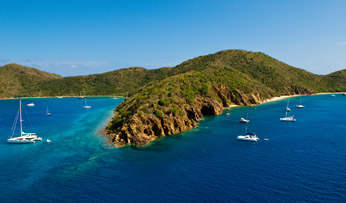Norman Island, the BVI