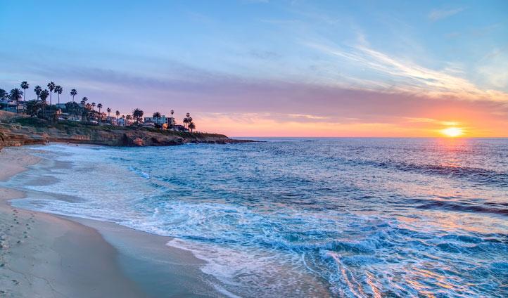La Jolla beach, USA