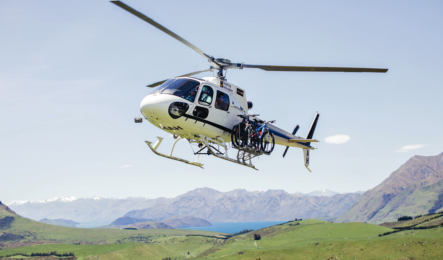 Heli-biking for the thrill seekers