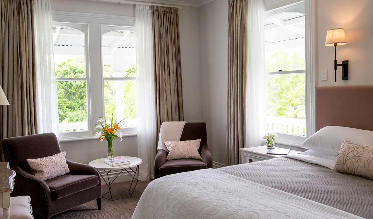 Cosy up in your luxurious suite