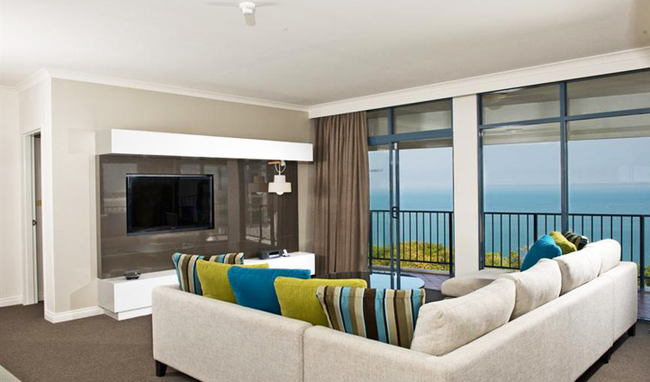 A penthouse at Mantra, Australia