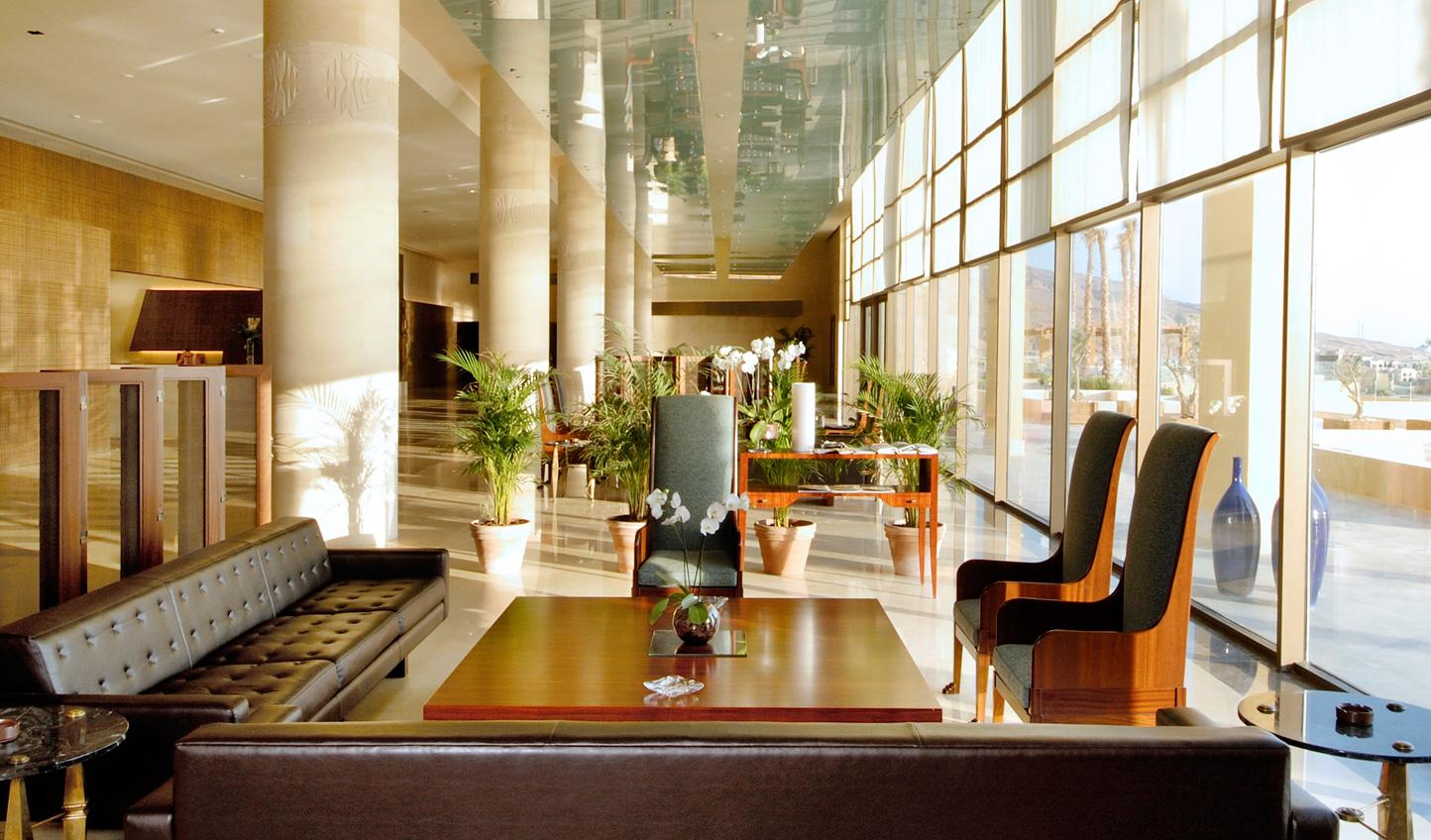Modern design runs through the Kempinski Hotel Ishtar