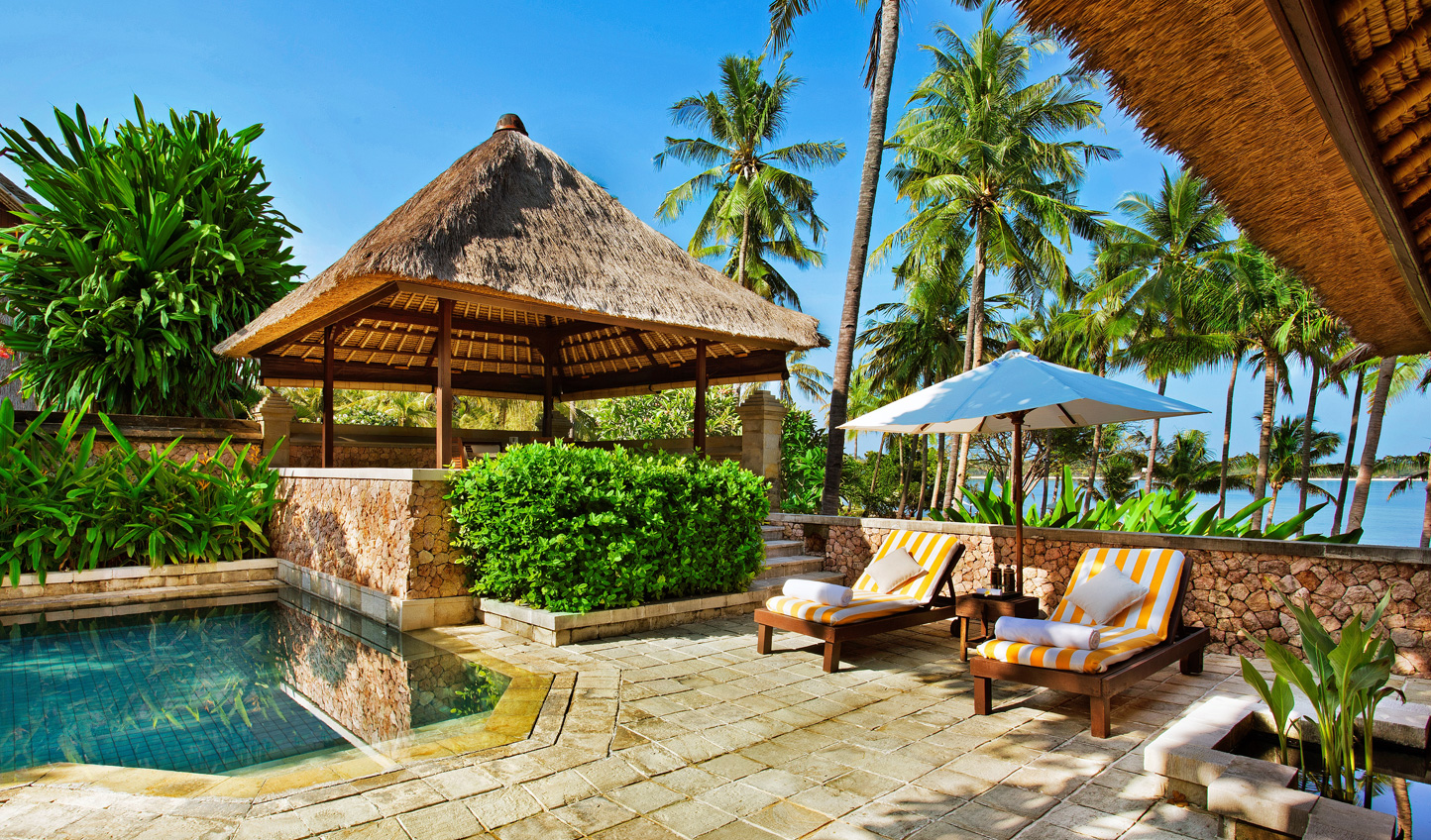 Relax in the privacy of your villa