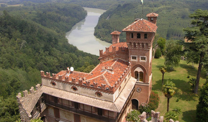 A view from Castello di Casole
