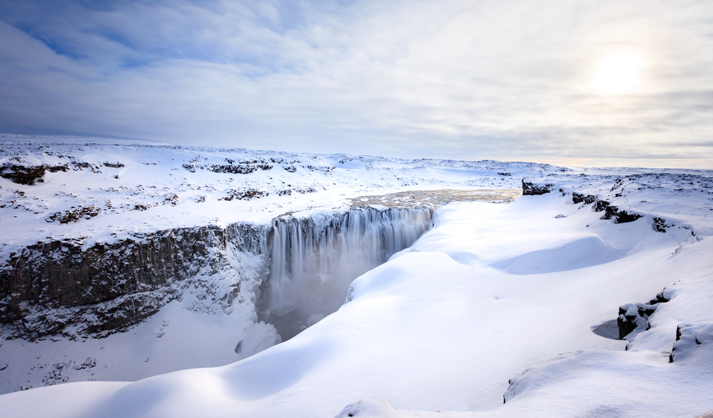 Carve across Iceland's winter