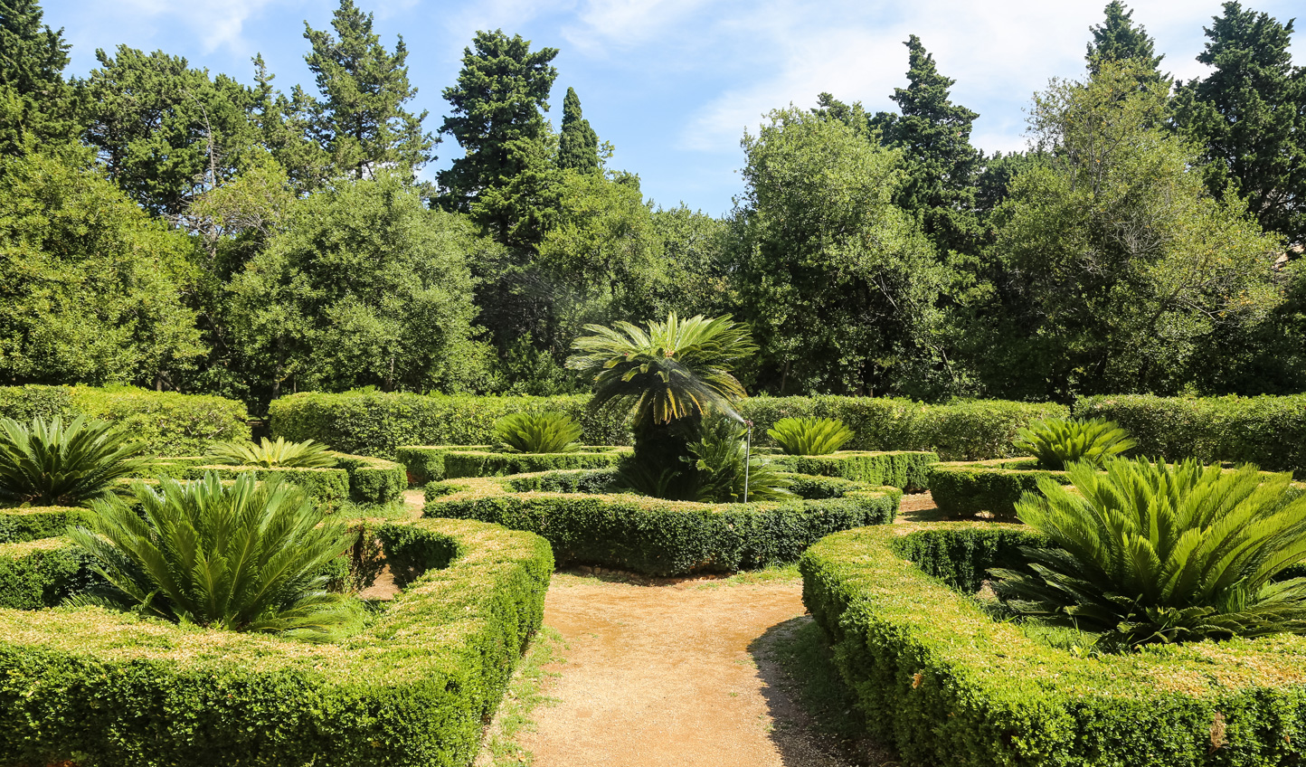 Stroll through the gardens on Lokrum