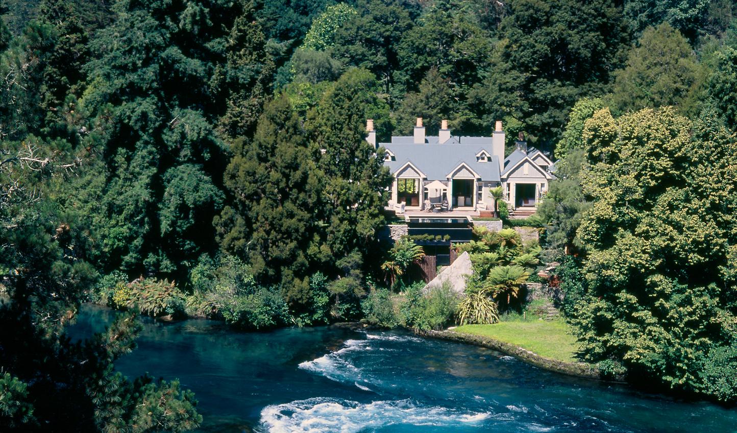 Your peaceful hideaway at Huka Lodge