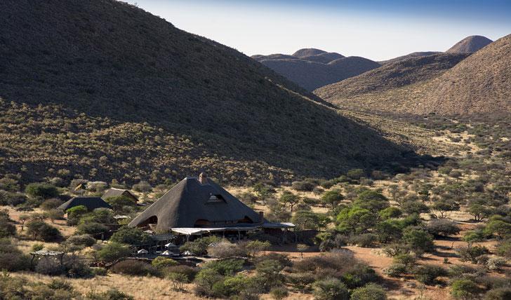 Luxury hotel Tarkuni in Tswalu, South Africa