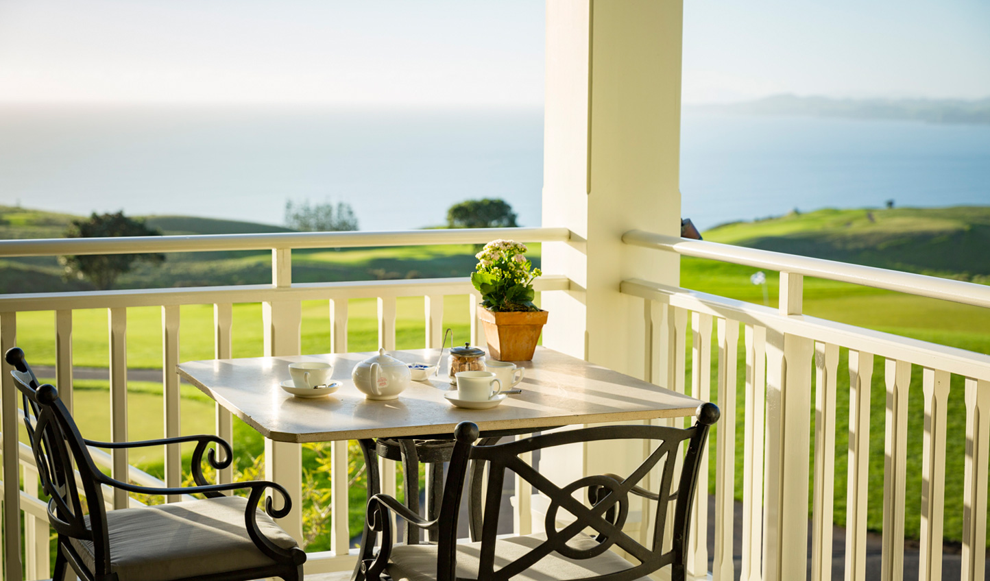 Take your morning coffee out to the porch and take in the ocean views