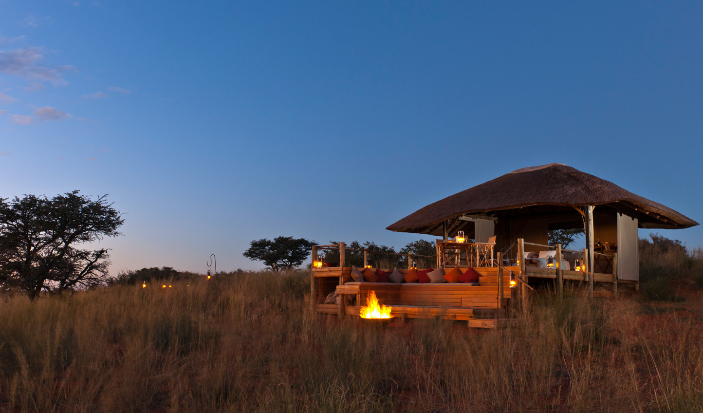 Sleep out in the wilds of the Kalahari