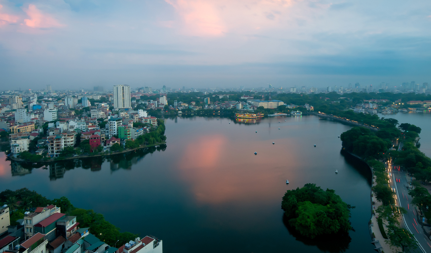 Start your adventure in the bustle of Hanoi