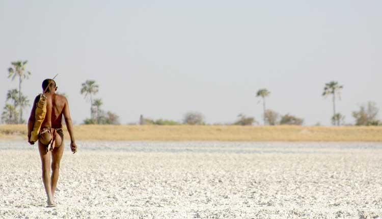 image of a botswana bushman