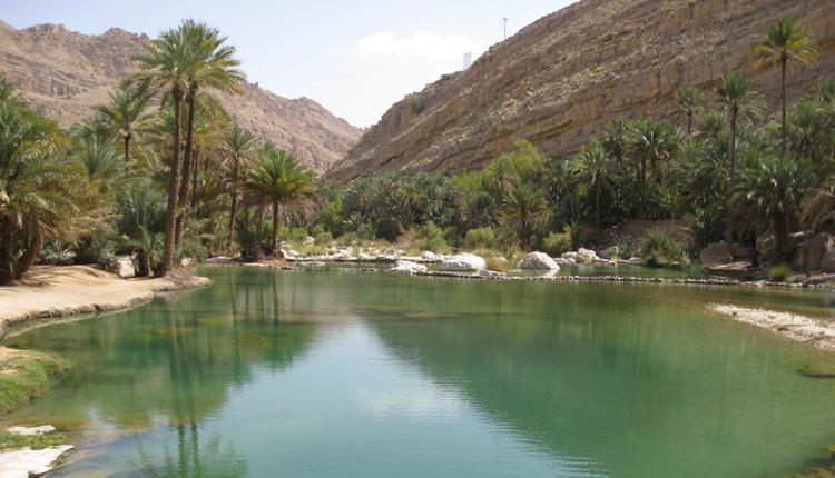 Wadi Bani Khalid , Oman