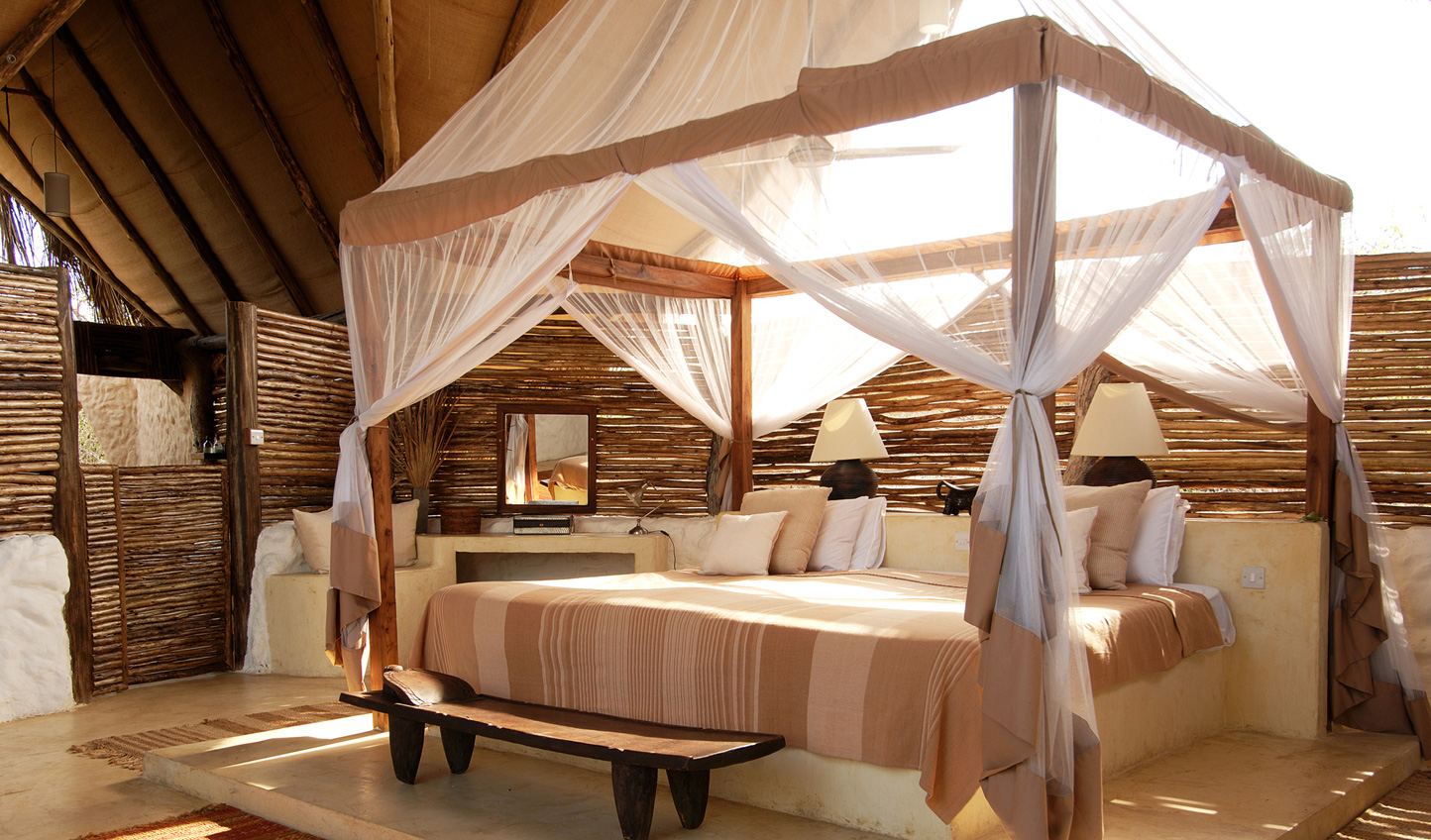 Your comfortable room at Sand Rivers