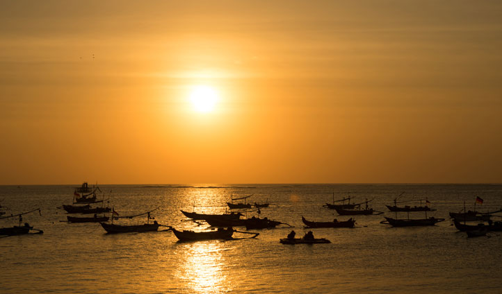 Fishing Boats, Bali