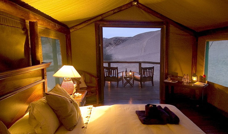 Skeleton Coast Camp Bedroom