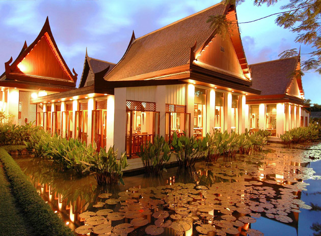 The Sukothai at the heart of Bangkok