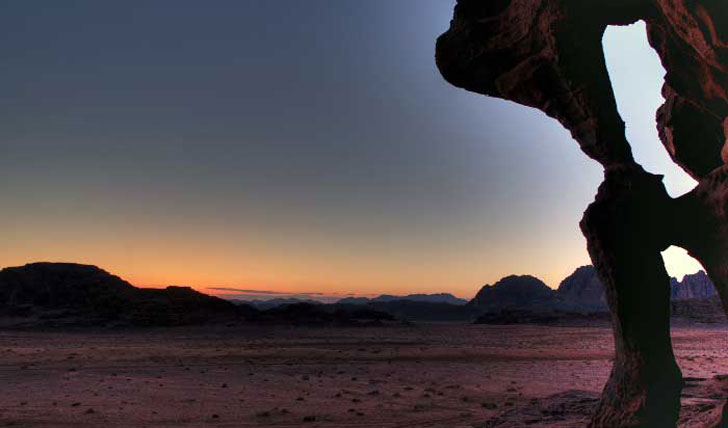 Jordan's Wadi Rum valley