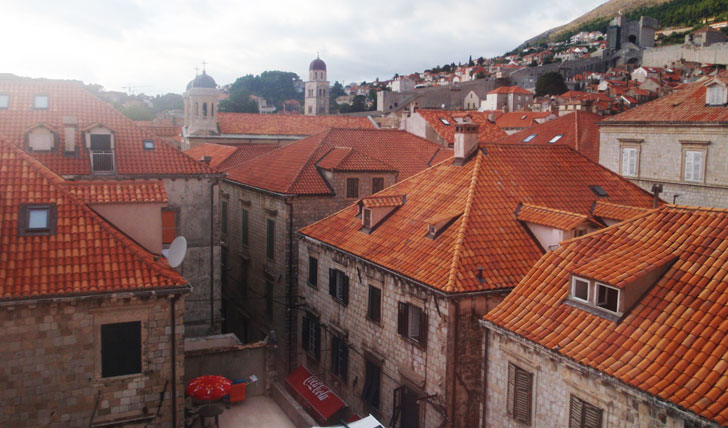 Pucic Palace | Dubrovnik rooftops | Croatia
