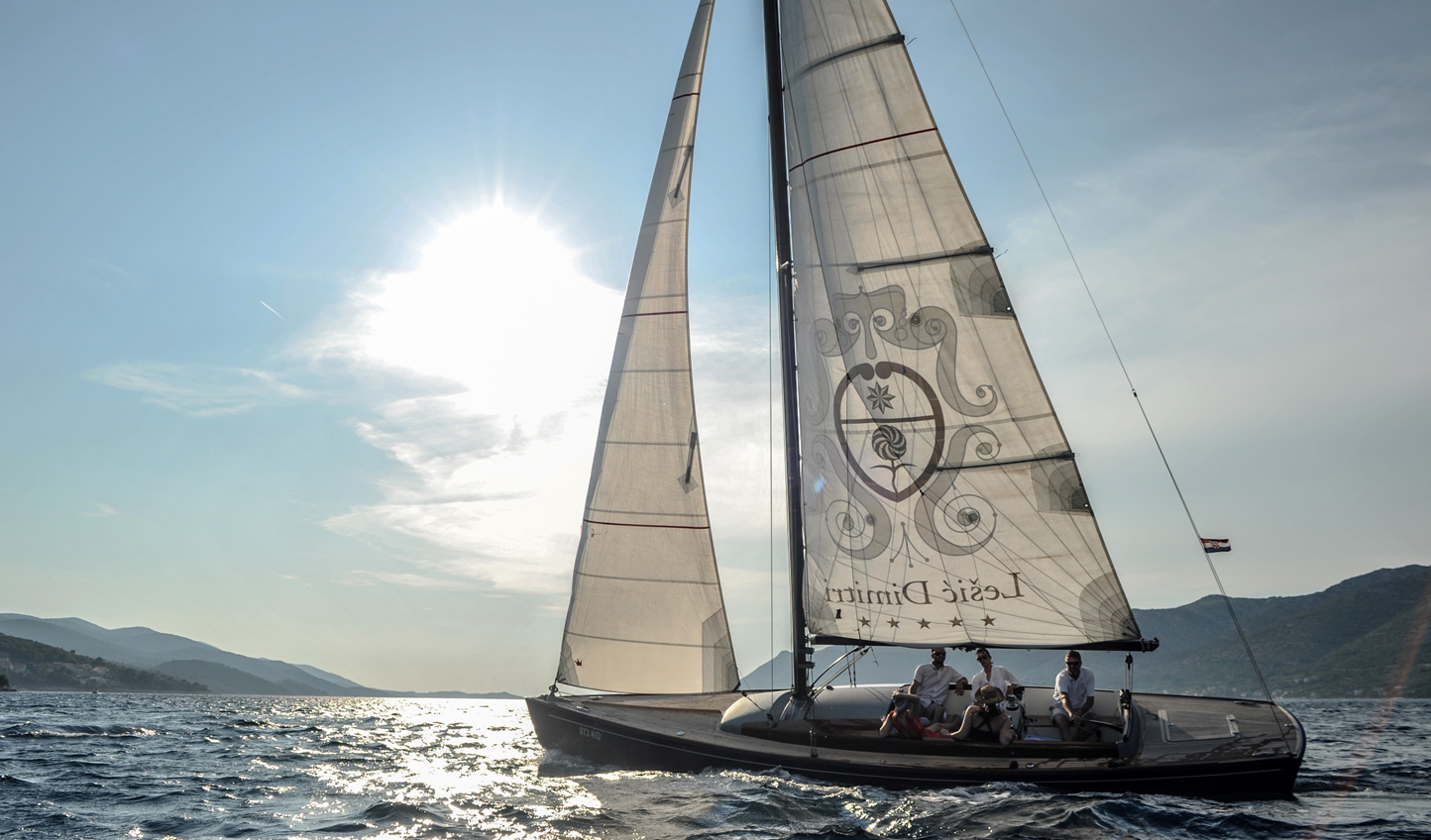 Explore the Adriatic onboard Lešić Dimitri Palace's sail boat