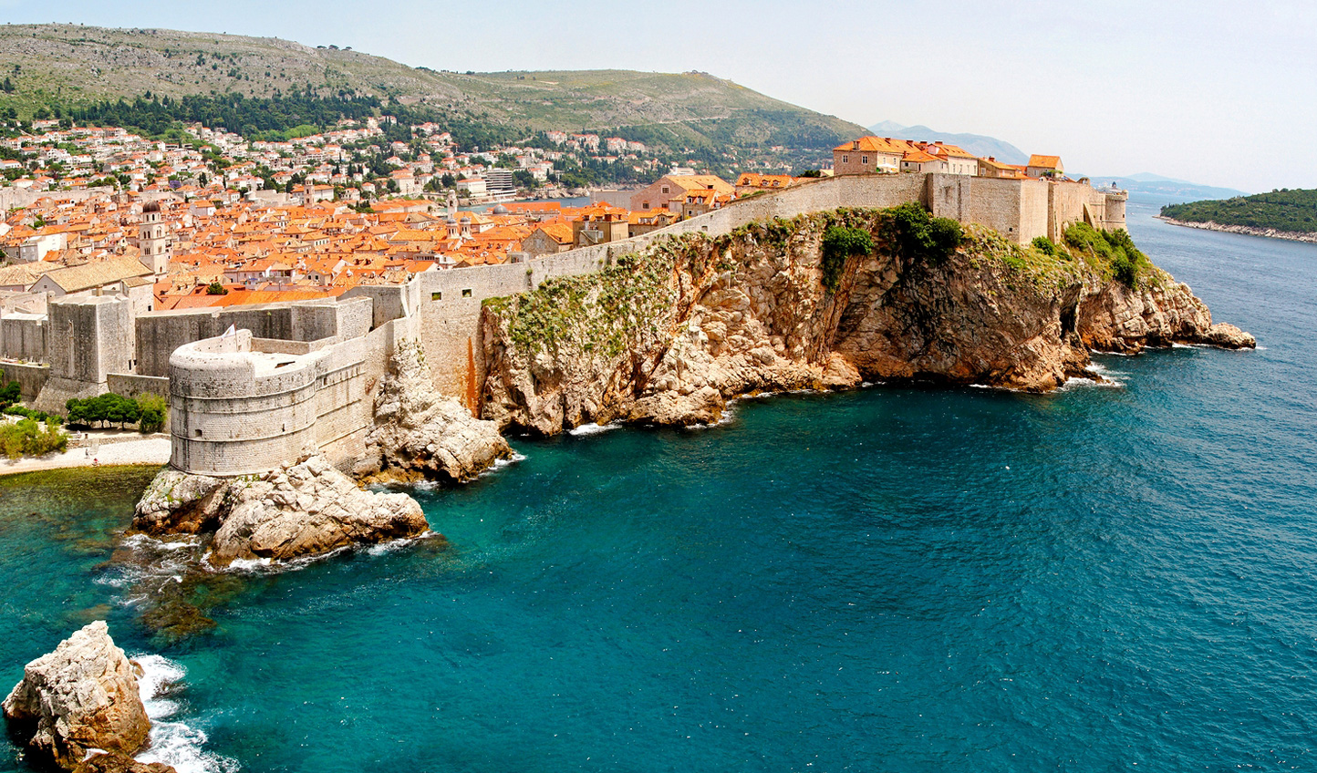 Wander the iconic city walls of Dubrovnik