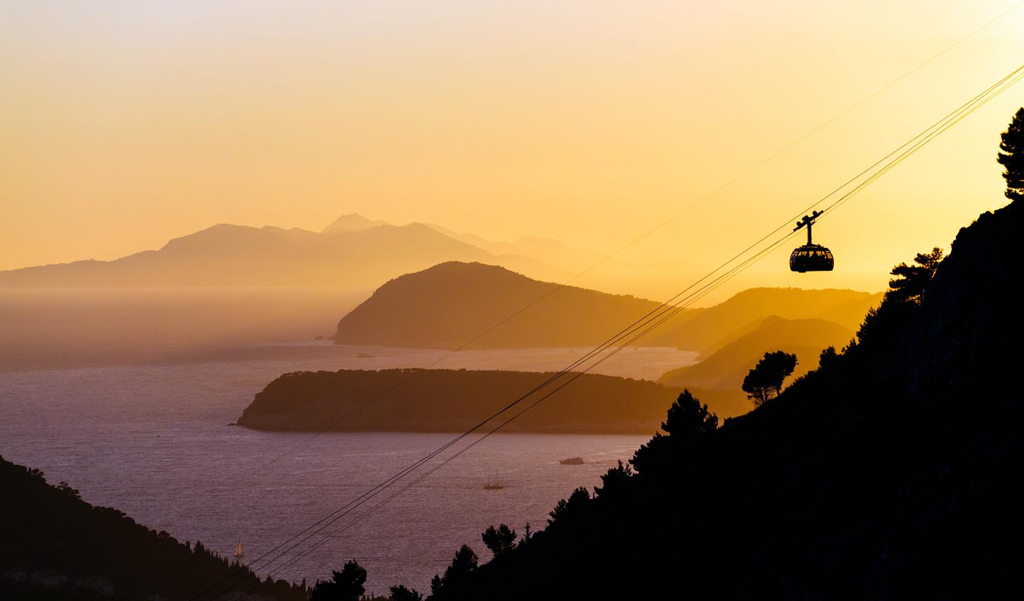 Head up Srdj Hill at sunset for spellbinding views