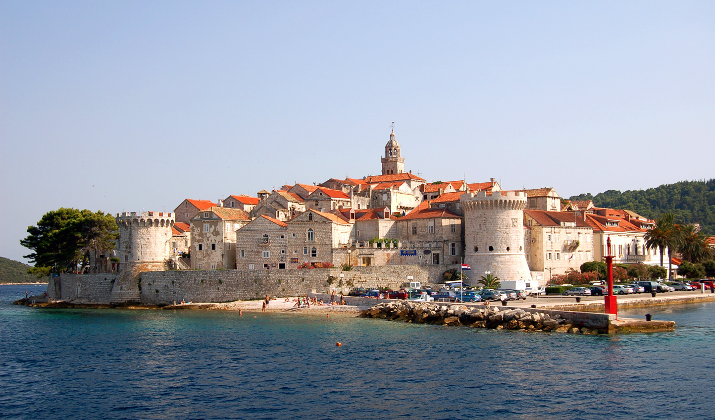 Old world charm in Korcula