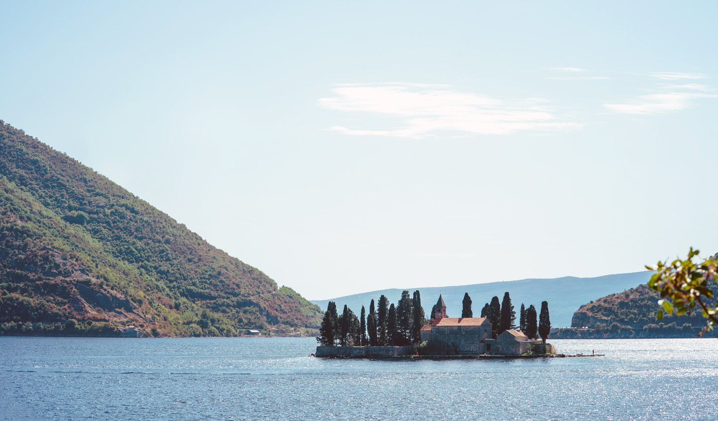 Sail out to Perast Island, listening to tales of local folklore