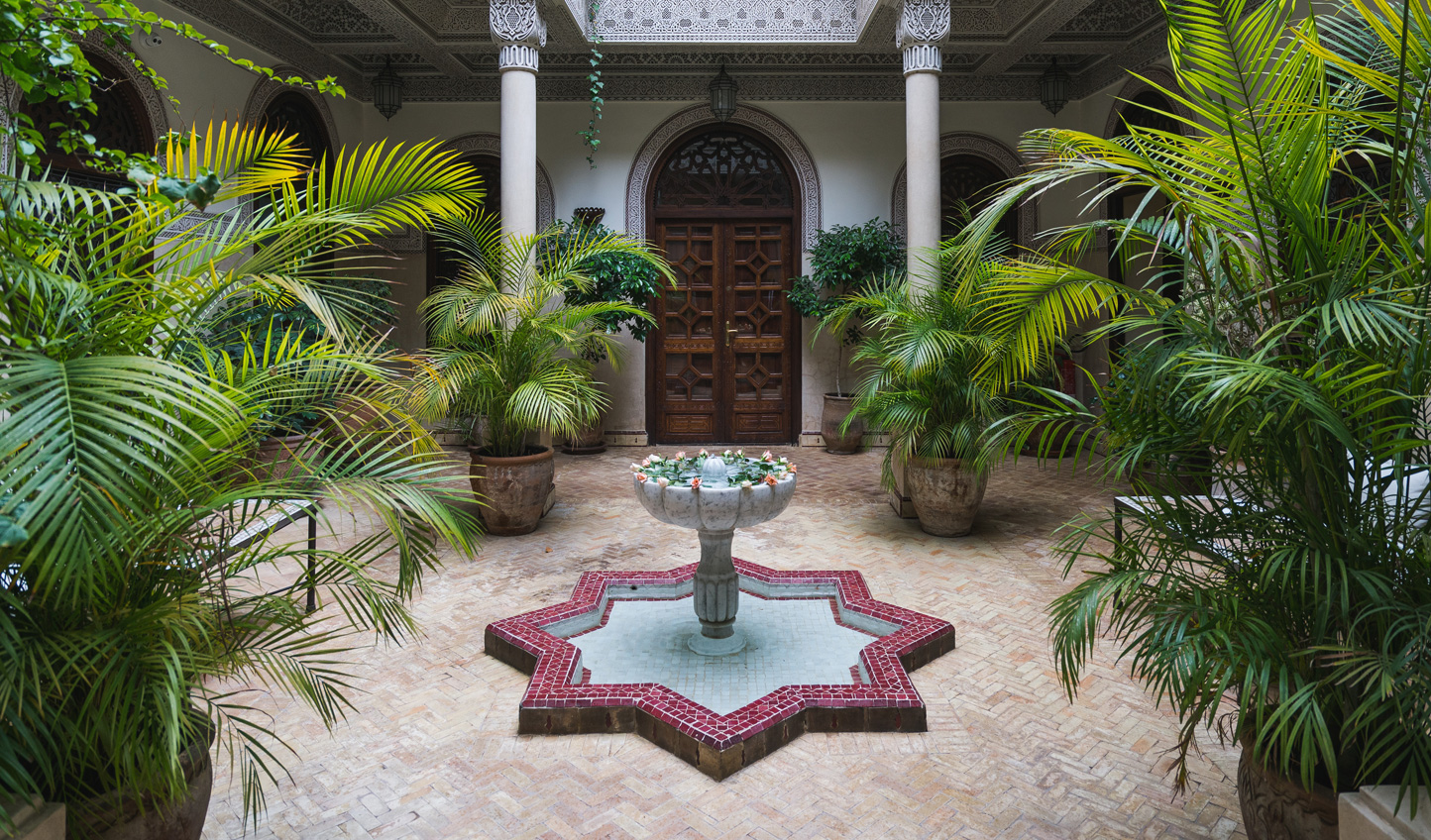 Spend a quite moment in beautiful riads hidden just off the medina
