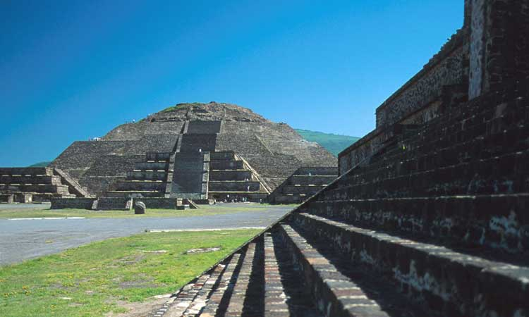 pyramids in mexico. the pyramids