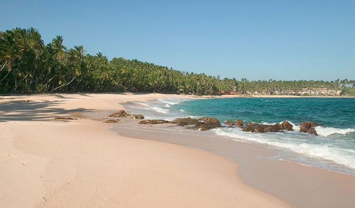 Beach seclusion bliss