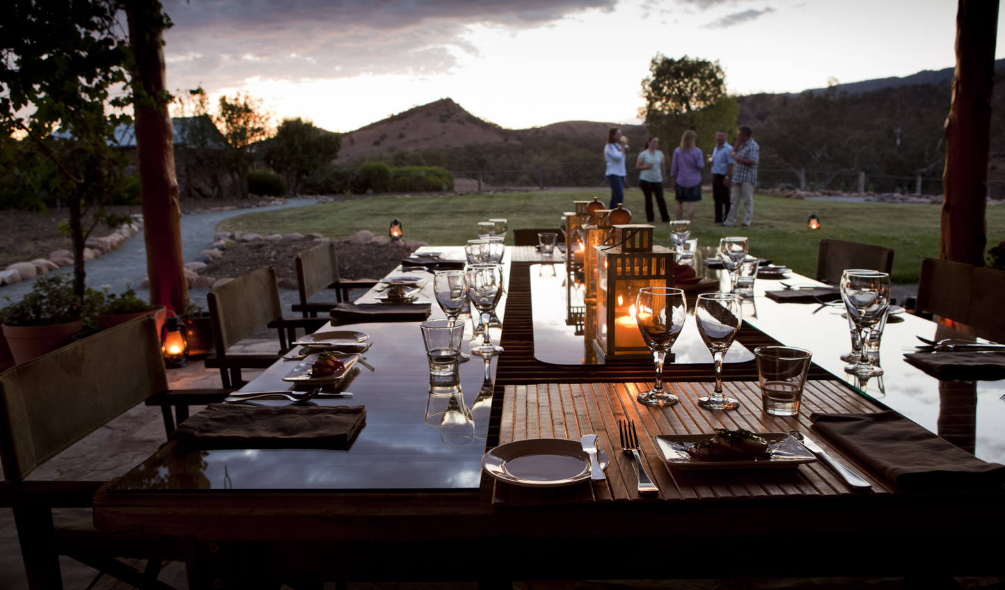 Savour South Australia's finest produce with dinner al fresco