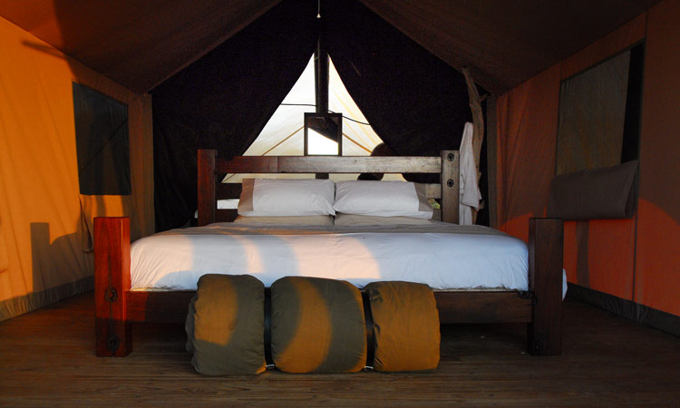 Tented luxury in your room