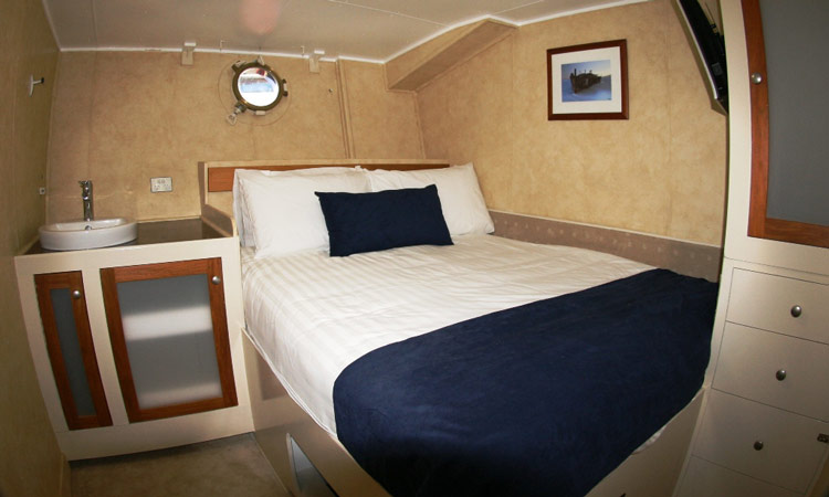 Your private cabin on the Descarada