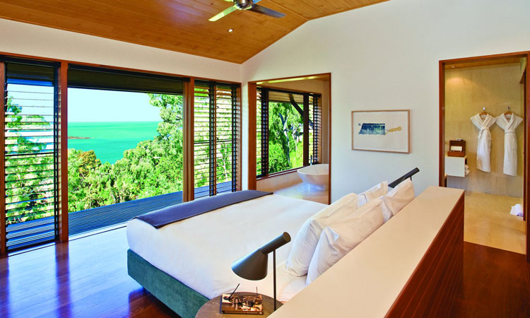 Floor to ceiling windows in your room