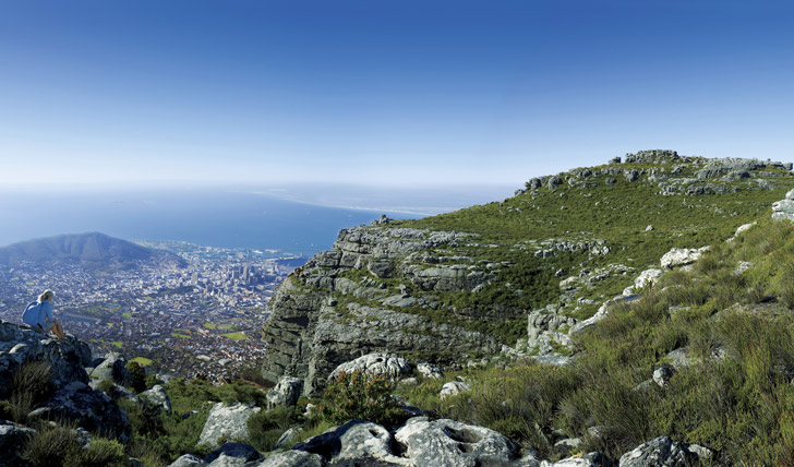 Admire the views from Table Mountain
