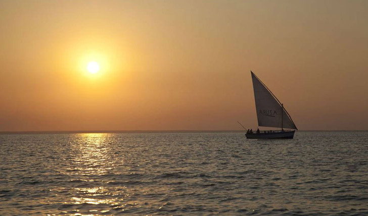 Sail away at Azura Benguerra
