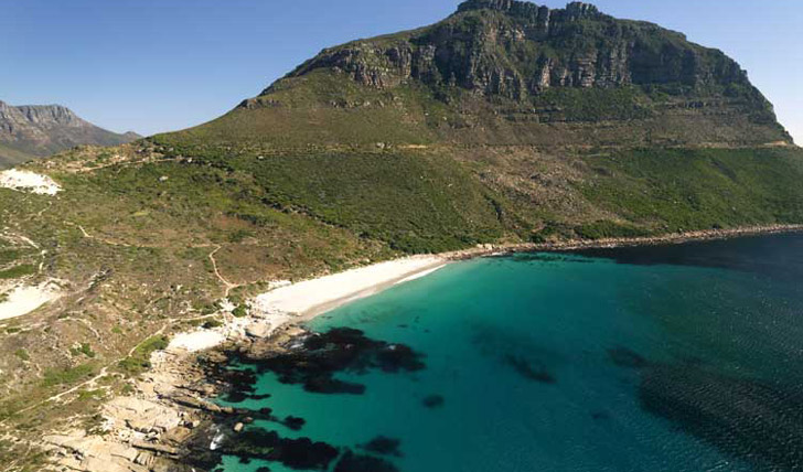 Find a secluded spot on the coast of the cape