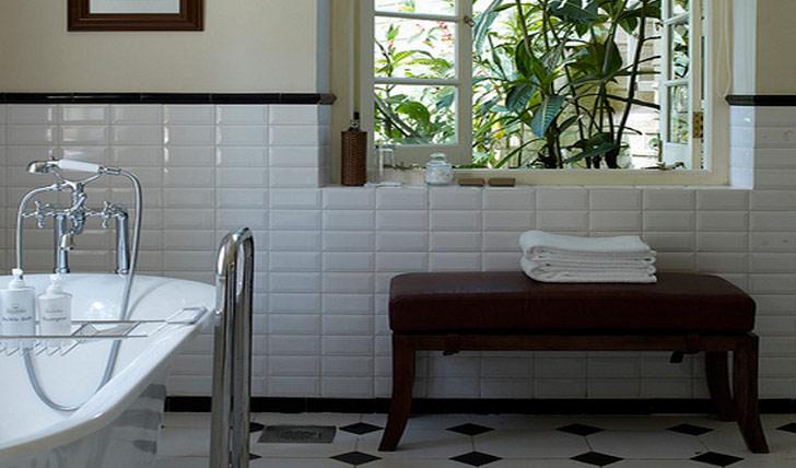 The Shuttleworth master suite bathroom