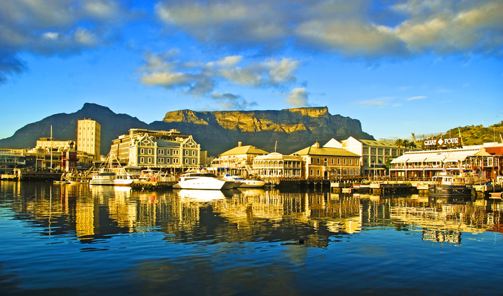 Stroll along the V&A Waterfront