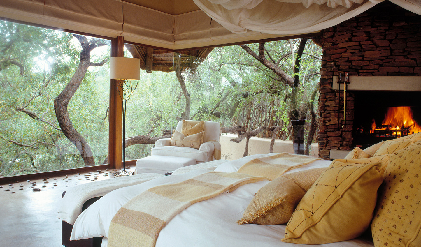 Wake up to all-encompassing views of the reserve