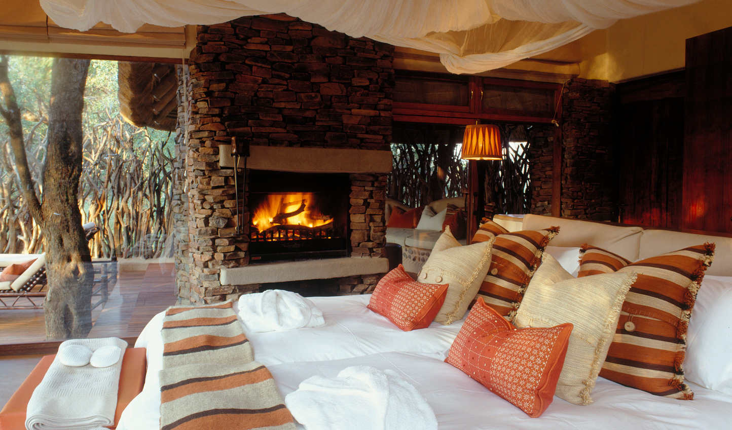 Cosy up beside the fire on those cooler nights