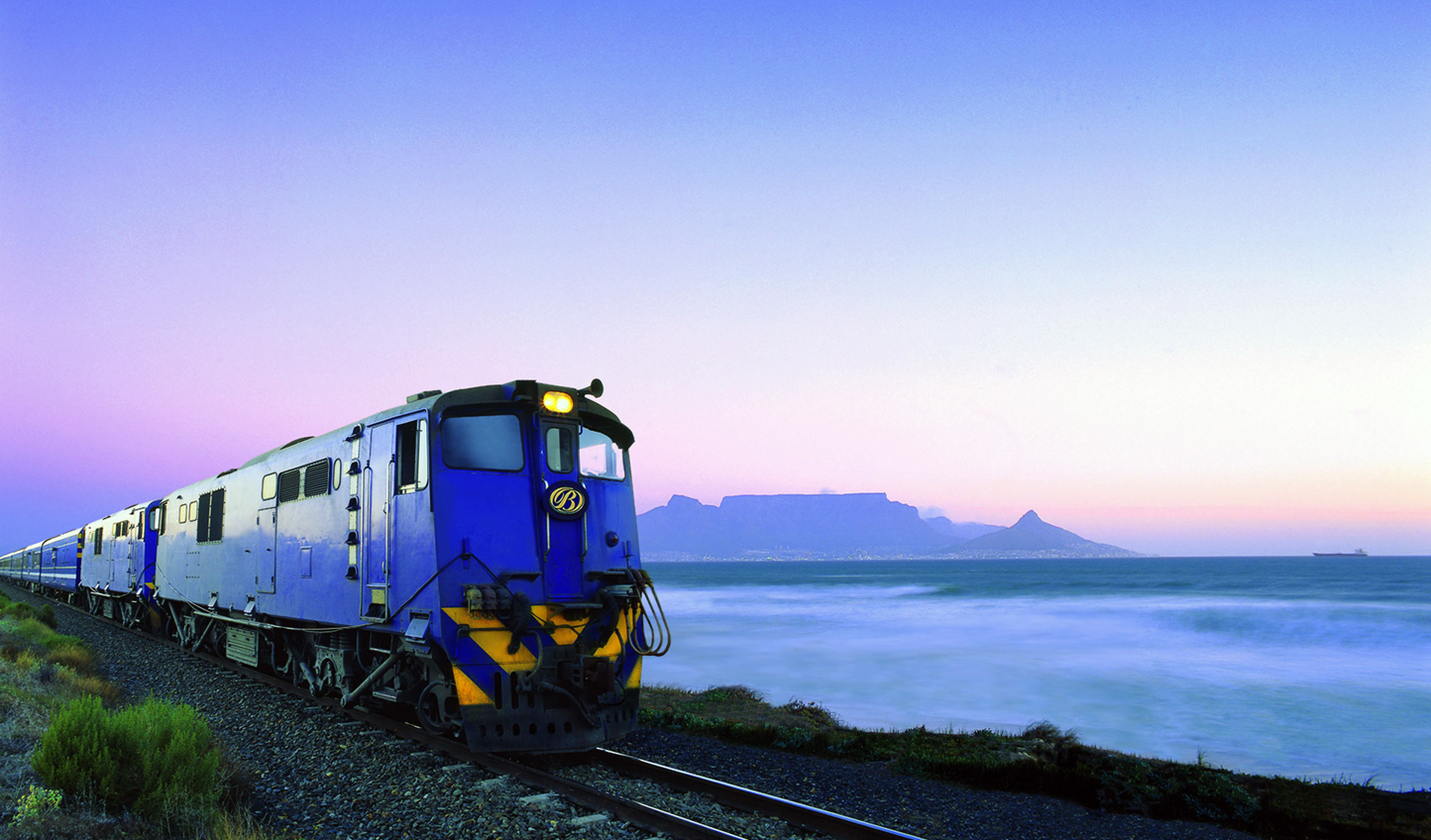 Travel from Pretoria to Cape Town on the Blue Train and see South Africa in all its glory