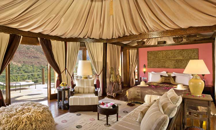 Experience Sheer Luxury On The Slopes Of The Atlas
