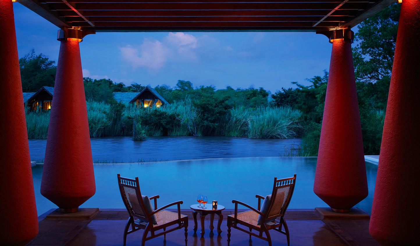 A beautiful spot for a nightcap