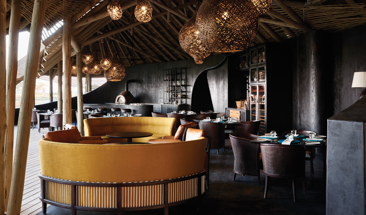 A romantic spot for a drink at Fish Eagle Bar