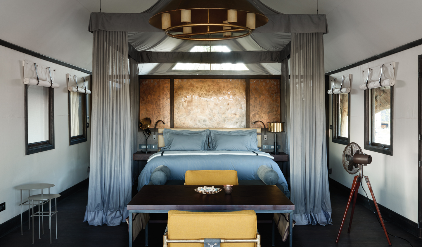 Oversized beds take centre-stage