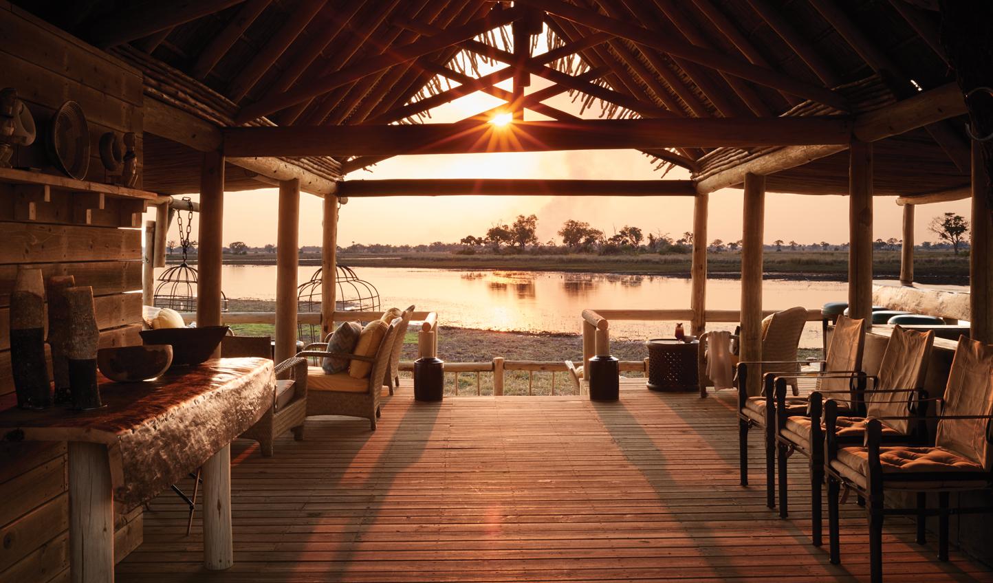 Enjoy stunning African sunsets