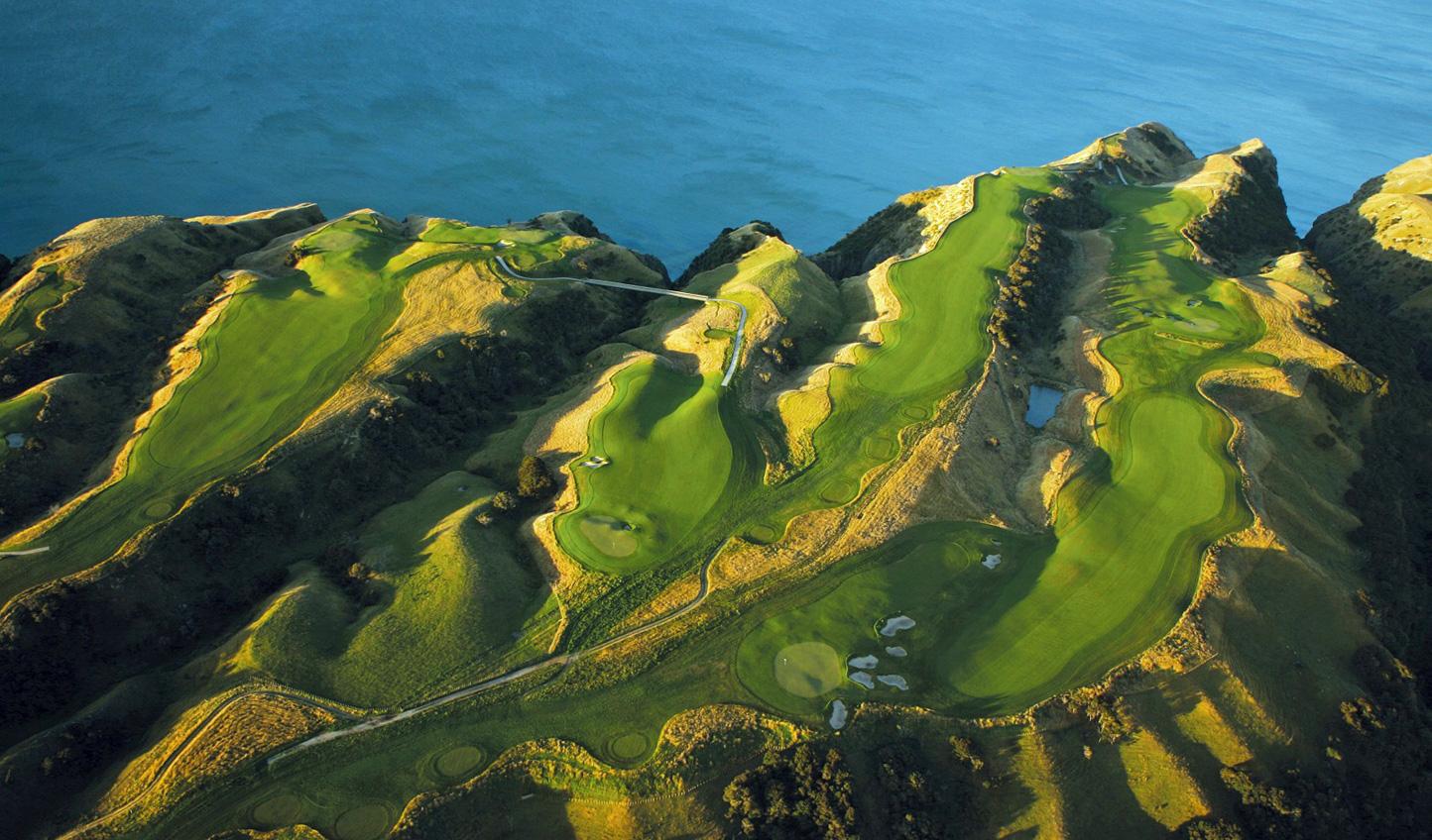 Tee off on an award-winning golf course