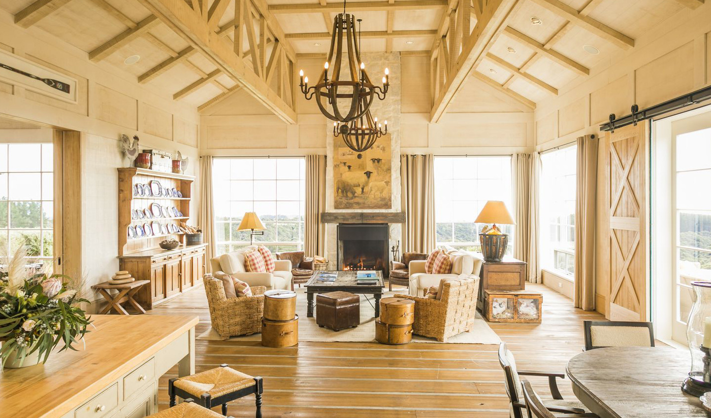 A stay in the Owner's Cottage will leave you feeling right at home